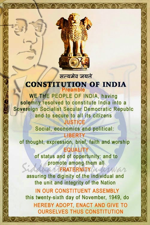 Preamble of Indian Constitution and its Meaning