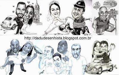 Caricaturas Dadu Desenhista