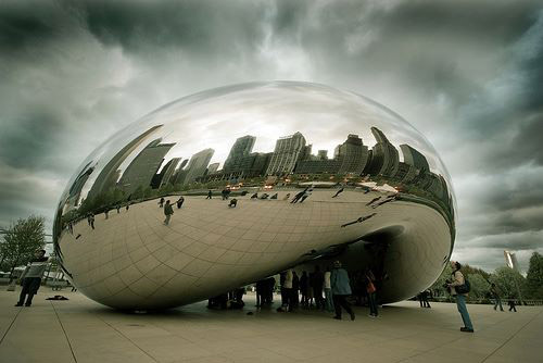 Clowd Gate - Anish Kapoor