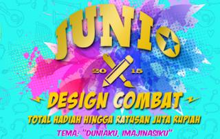 Lomba Design Combat BRI Junio