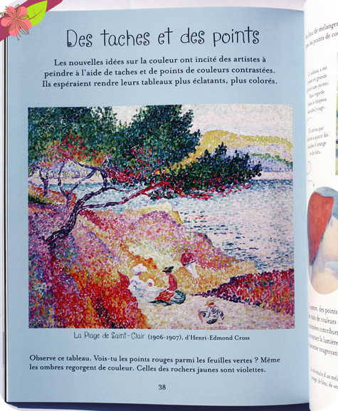 L'art en couleurs - éditions Usborne