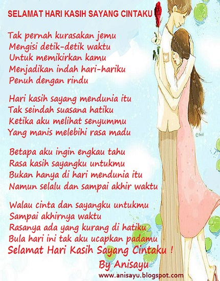Love Poems Happy Valentine Day Selamat Hari Kasih Sayang