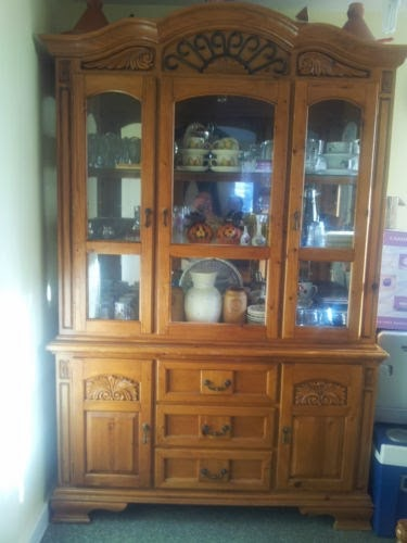 Furniture flippin 39 from ho hum to custom - Knotty pine cabinets makeover ...