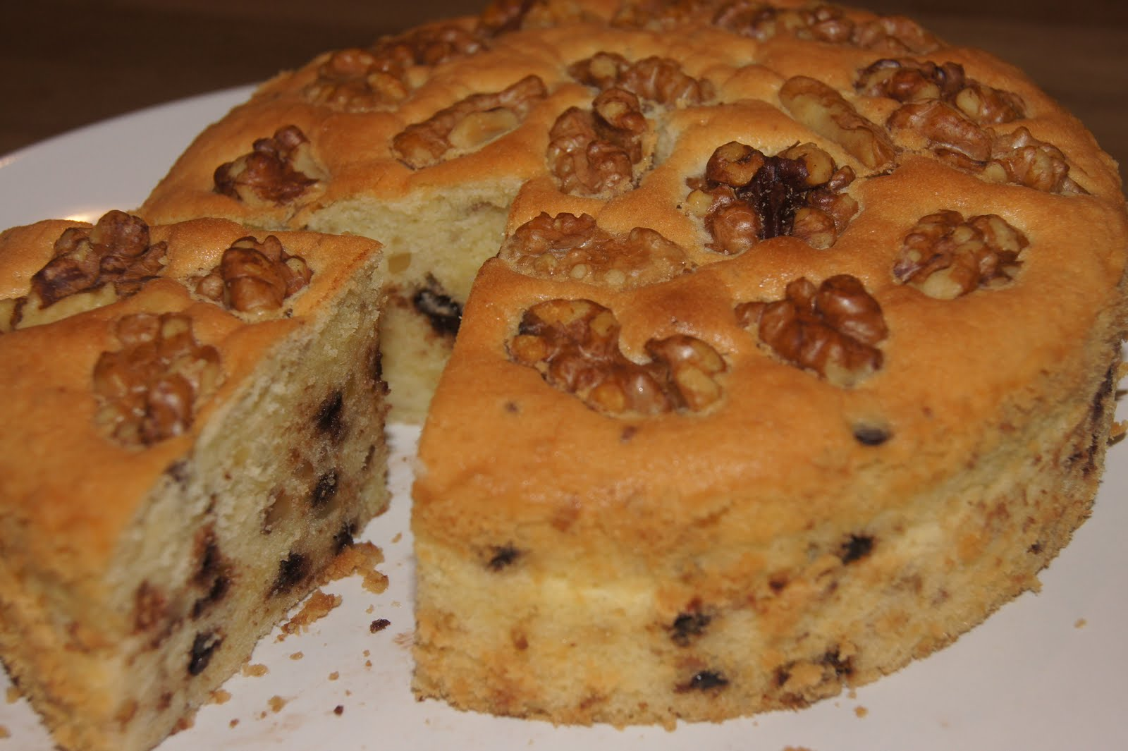 Recipes And Coffee Cake With Walnuts