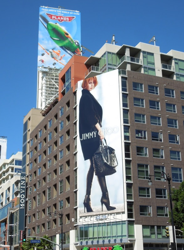 Nicole Kidman Jimmy Choo Fall 13 billboard Vine Street