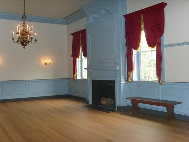 Interior of Gadsby's Tavern