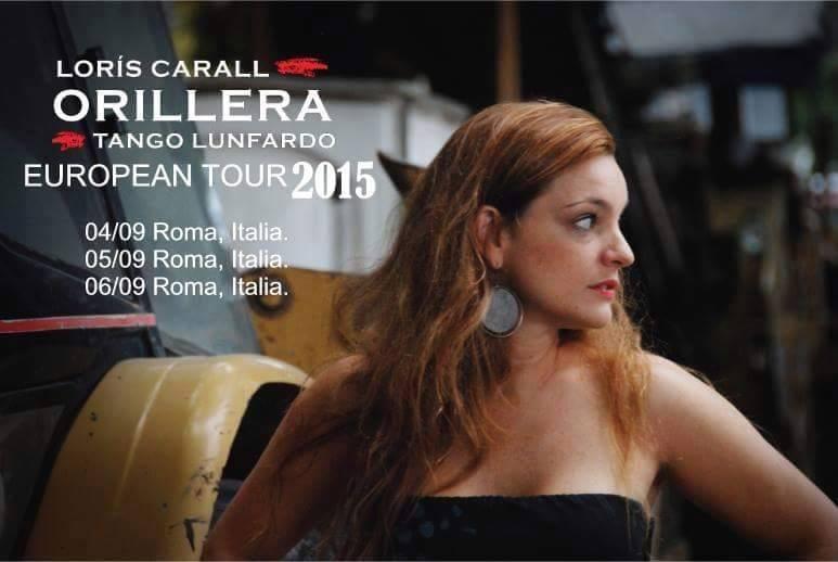 Loris Carall actuo el 30 de agosto 2015