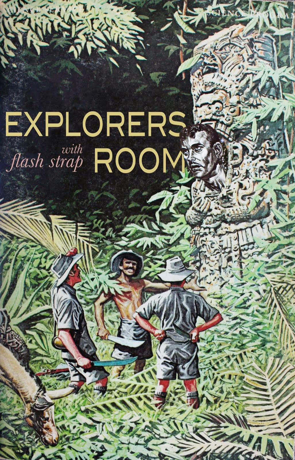 Explorers Room with Flash Strap on WFMU