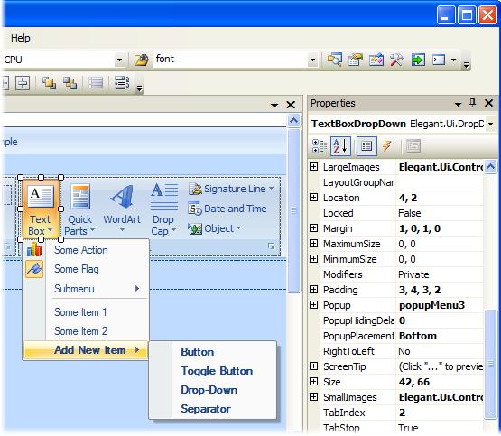 Ribbon Designer Visual Studio