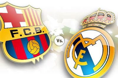 Escudos FC Barcelona - Real Madrid