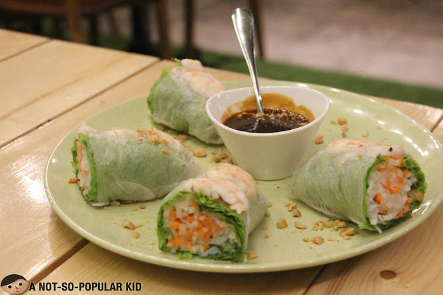 Shrimp Spring Rolls of Earth Kitchen
