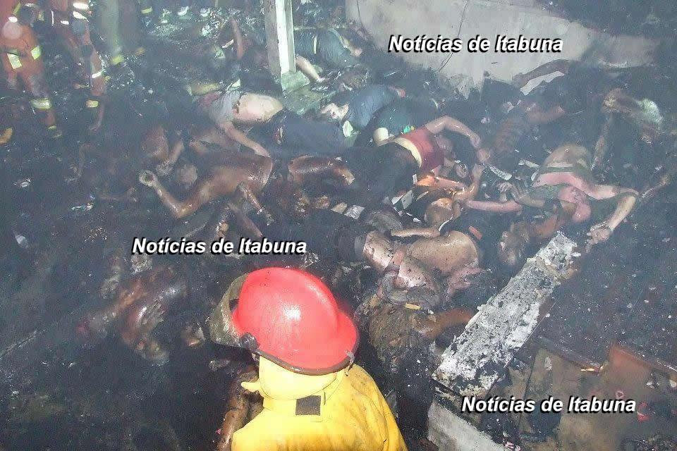 Noticias de Itabuna: Imagens Fortes da Tragédia em Santa Maria na
