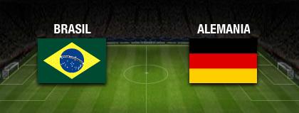 resultado final Brasil vs Alemania 08 de julio cuartos de final