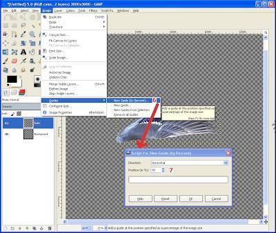 GIMP - Create Guides