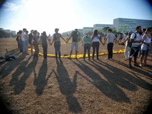protestos contra construção Usina de Belo Monte