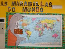 """PROXECTO 2016-2017 """"AS MARAVILLAS DO MUNDO"""""""