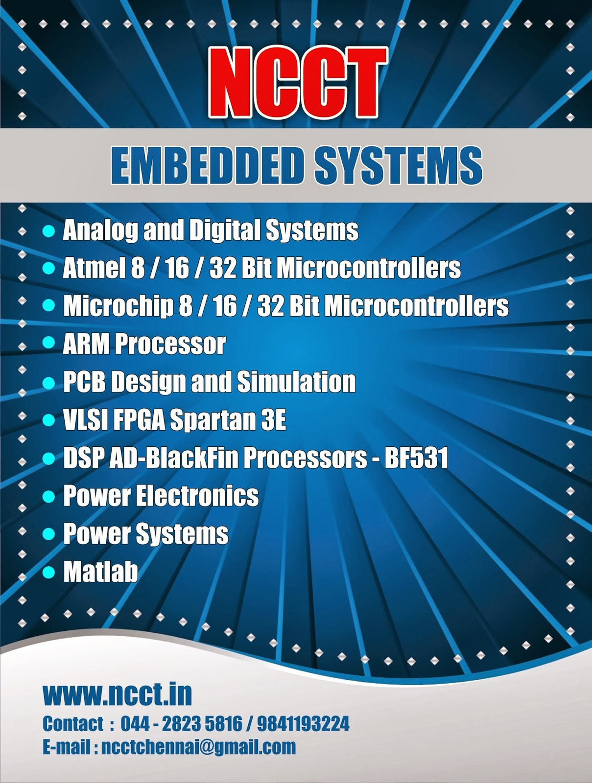 Ncct Project Image Gallery Atmel Pic Dspic Vlsi Matlab Arm Dsp Electronics Projects Arduino Microcontroller And Cpld Fpga Adsp Blackfin Ieee Final Year Embedded System