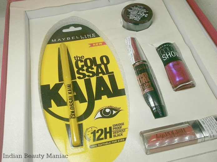 Maybelline Insta Glam Box in Pink