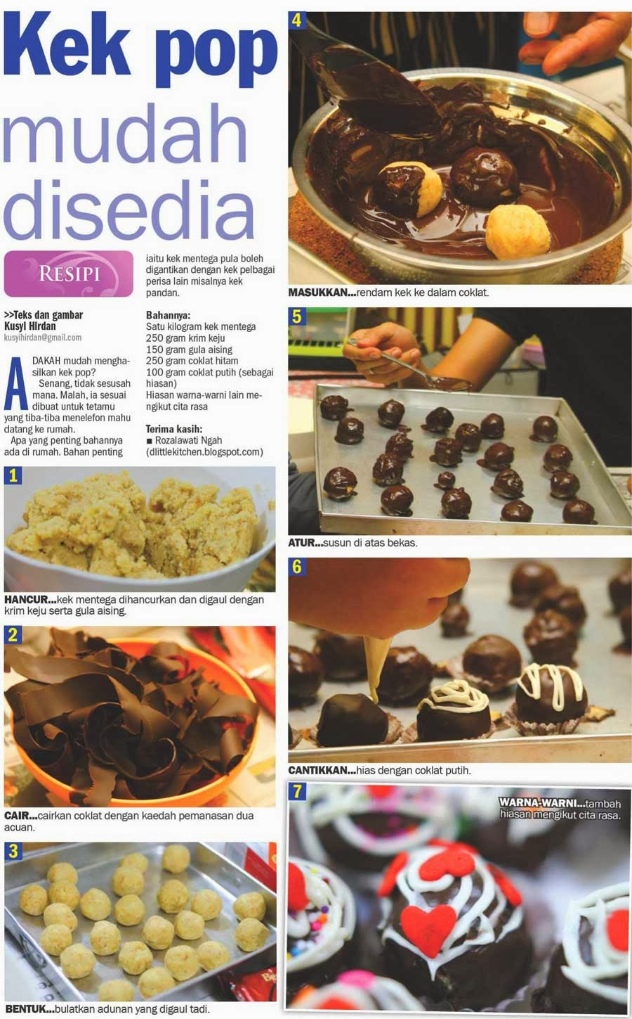 d'little kitchen in Harian Metro II