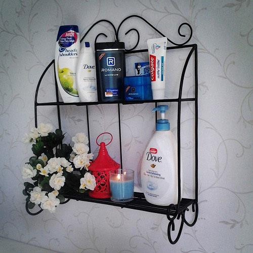 Phòng tắm gọn gàng