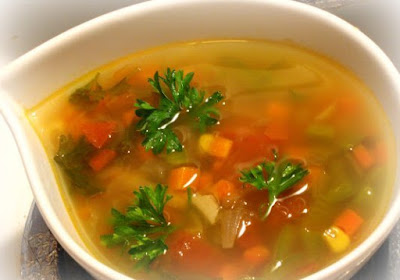 Learn how to make a broth anti-inflammatory and anticarcinogenic