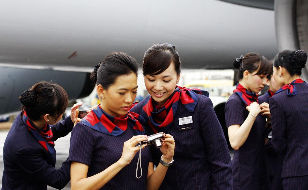 Beautiful Air Hostess Kingfisher Airlines Beautiful Air Hostesses in
