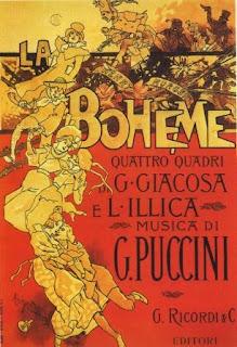 """""""la bohème"""" - G. Giacosa e L. Illica"""