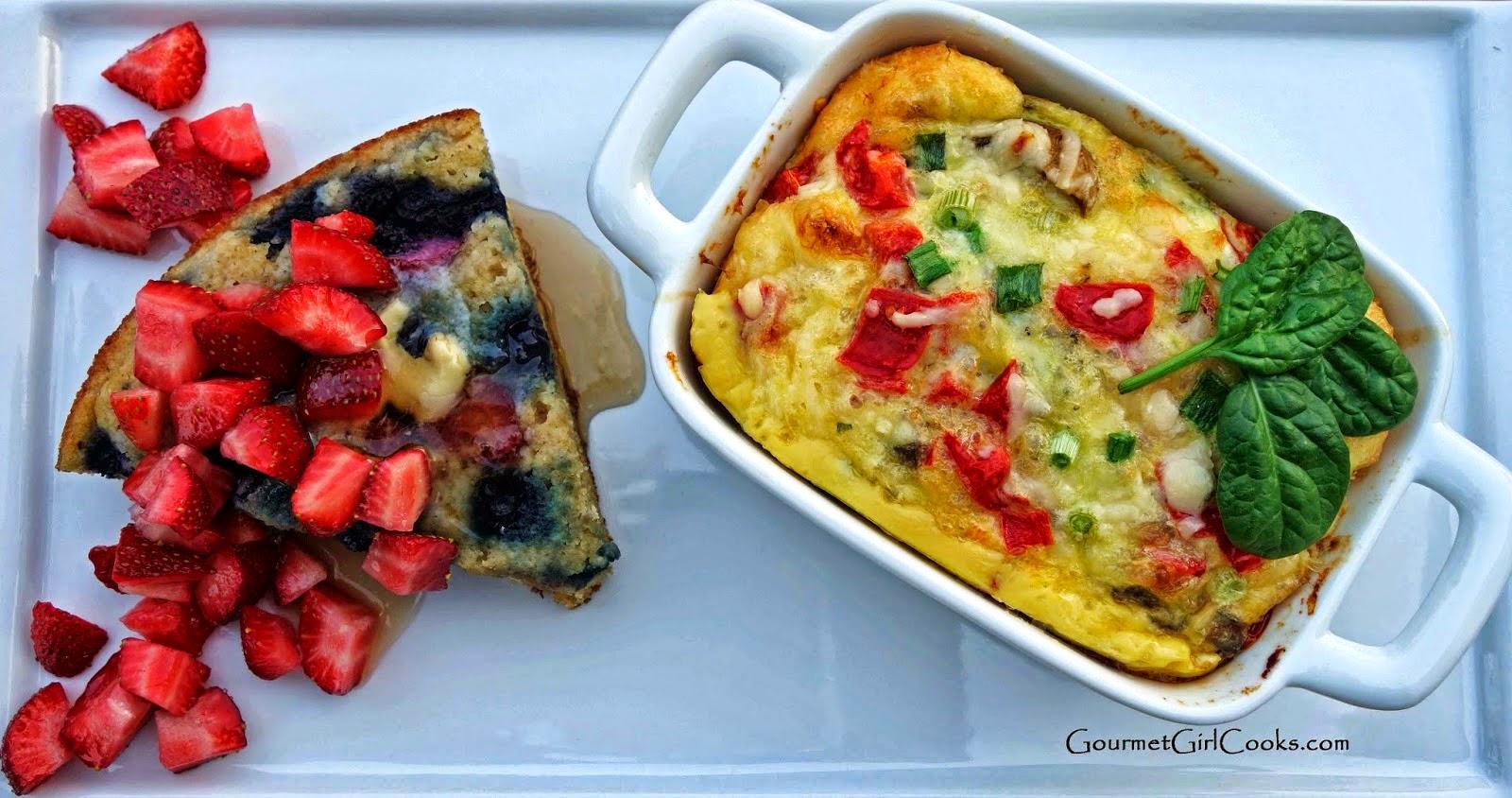 Gourmet Girl Cooks Mini Breakfast Casseroles You Say Egg Strata
