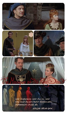 The Masque of the Red Death With Vincent Price and Hazel Court