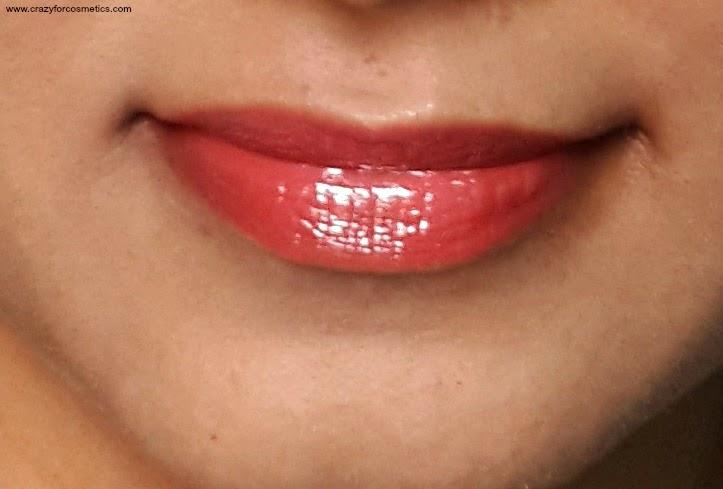 bobbi brown lip gloss ruby sugar swatch-bobbi brown lip gloss ruby sugar review