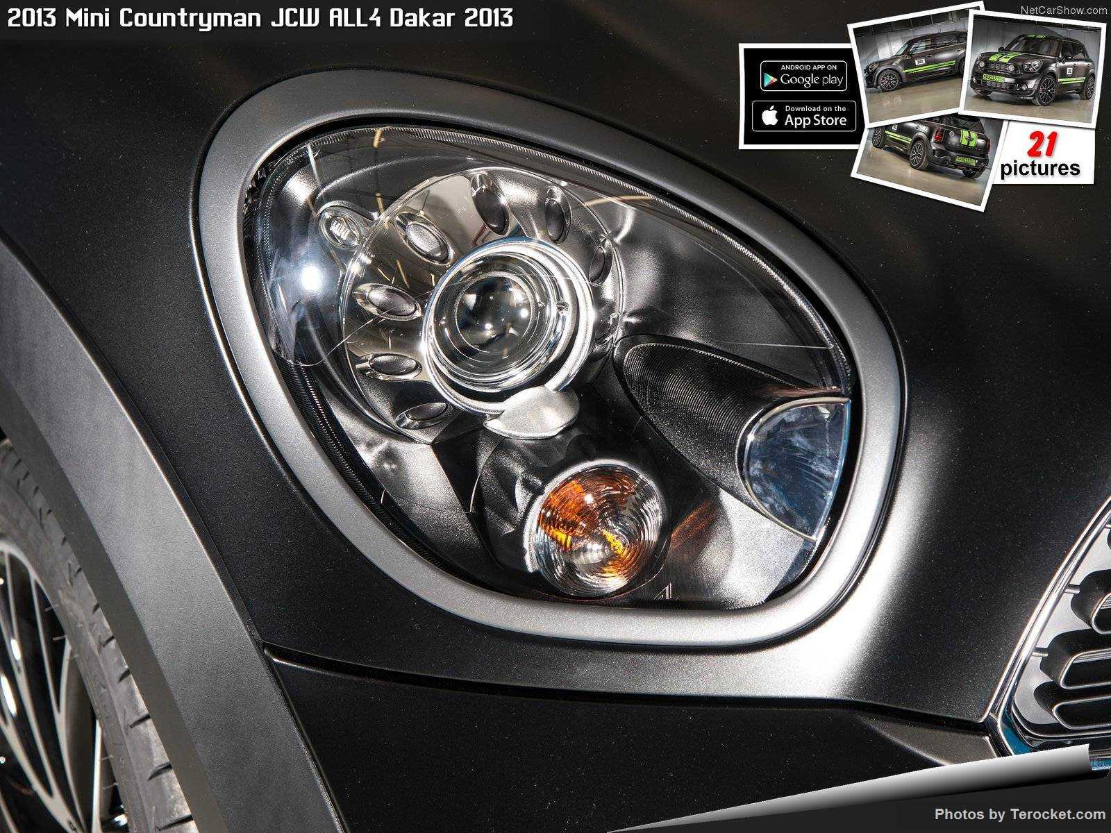Hình ảnh xe ô tô Mini Countryman JCW ALL4 Dakar 2013 & nội ngoại thất