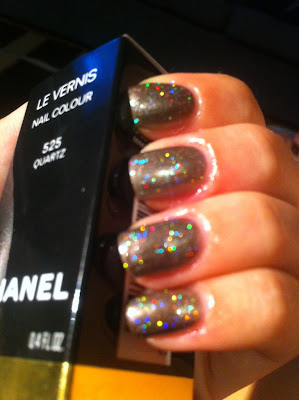Chanel Quartz & China Glaze Fairy Dust