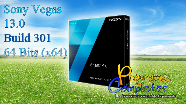 Sony Vegas 13.0 Build 301 + Crack download completo abelhas.pt nitroflare zippyshare rapidgator vip-file letitbit