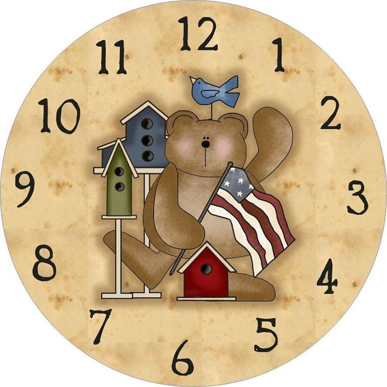 Sgblogosfera mar a jos arg eso relojes bonitos y variados - Dibujos de relojes para imprimir ...