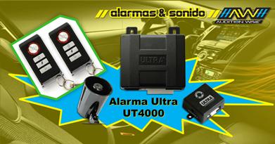 Alarma Ultra 4000 - Descuento Especial en AW Car Audio