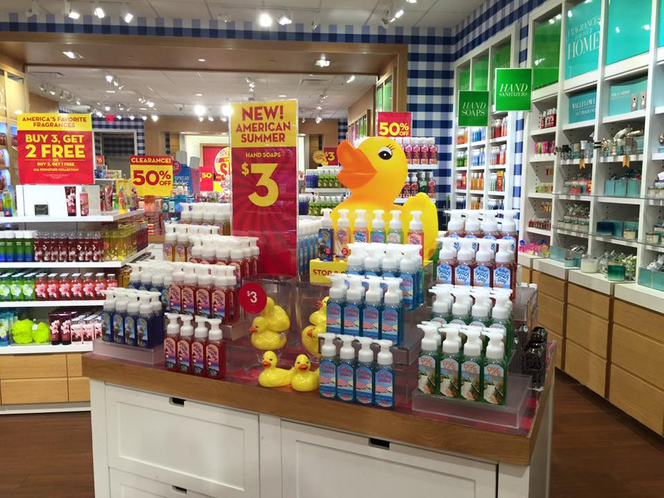 Here are the photos. Bath   Body Works   Semi Annual Sale   Photos of an early set