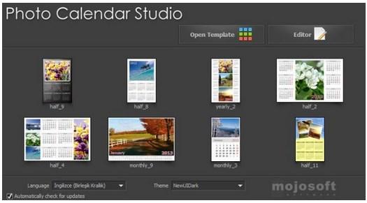 Mojosoft Photo Calendar Studio 2015 v1.20