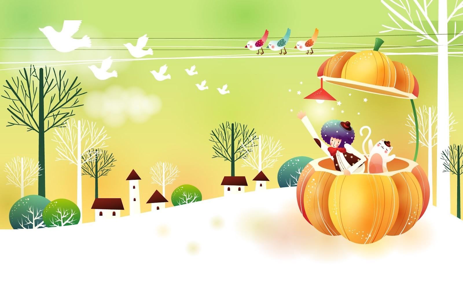 let s push game  u5c0f u904a u6232 u5929 u5802  u53ef u611b u5716 u6848 four season fun in cartoon fall season clip art free fall season clipart free