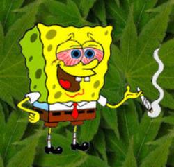 THE WEED THREAD!!!!!!!!!!!!!! Spongebob-weed-smoke