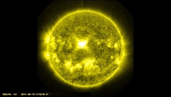 Pagi Tadi, Badai Matahari Meletup dan Mengarah ke Bumi