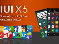 Download MIUI X5 HD Apex/Nova/ADW Theme v3.0.0 APK