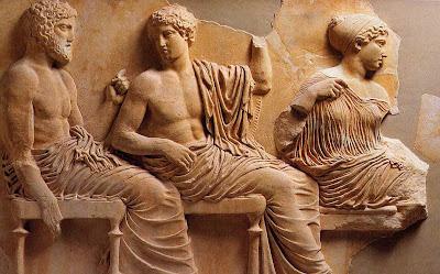 história, antiga, arte, grega