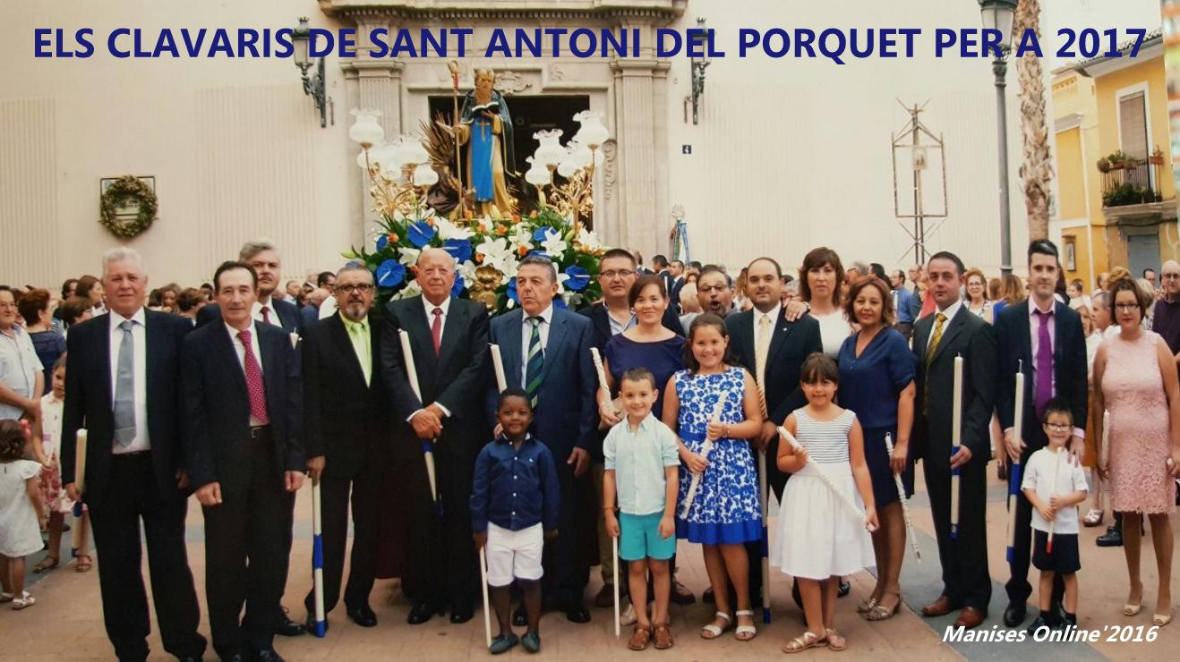 09.11.16 ELS CLAVARIS DE SANT ANTONI DEL PORQUET- SAN ANTONIO ABAD DE 2017.