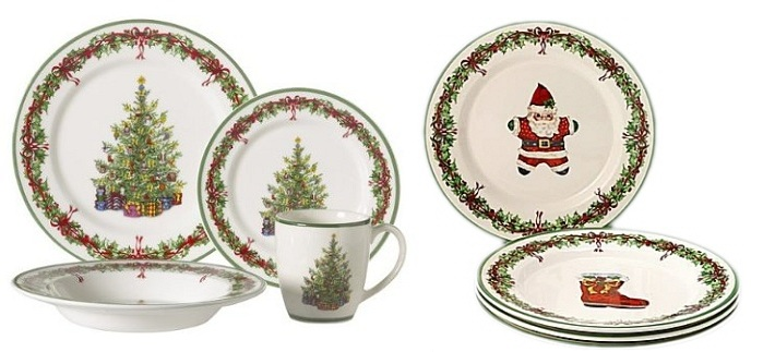 This and That : CHRISTMAS COLLECTIBLE DINNERWARE