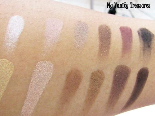 theBalm Nude Tude Swatches