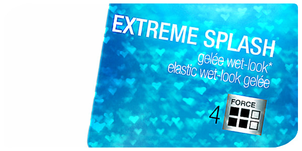 Gelée wet look Extreme Splash