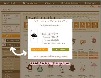 how to win poupee bid