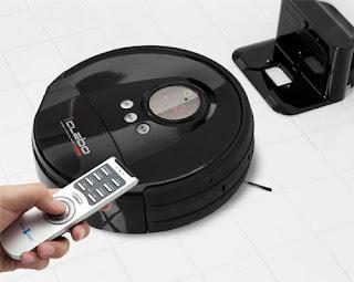 robot-aspirador con control remoto iclebo home