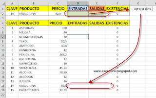 VBA: Trasladar datos de inventario....