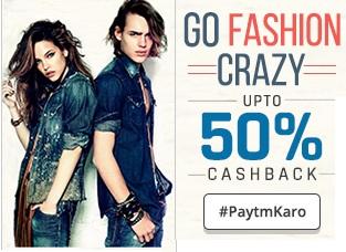 Tshirts-jeans-extra-50-cashback-paytm